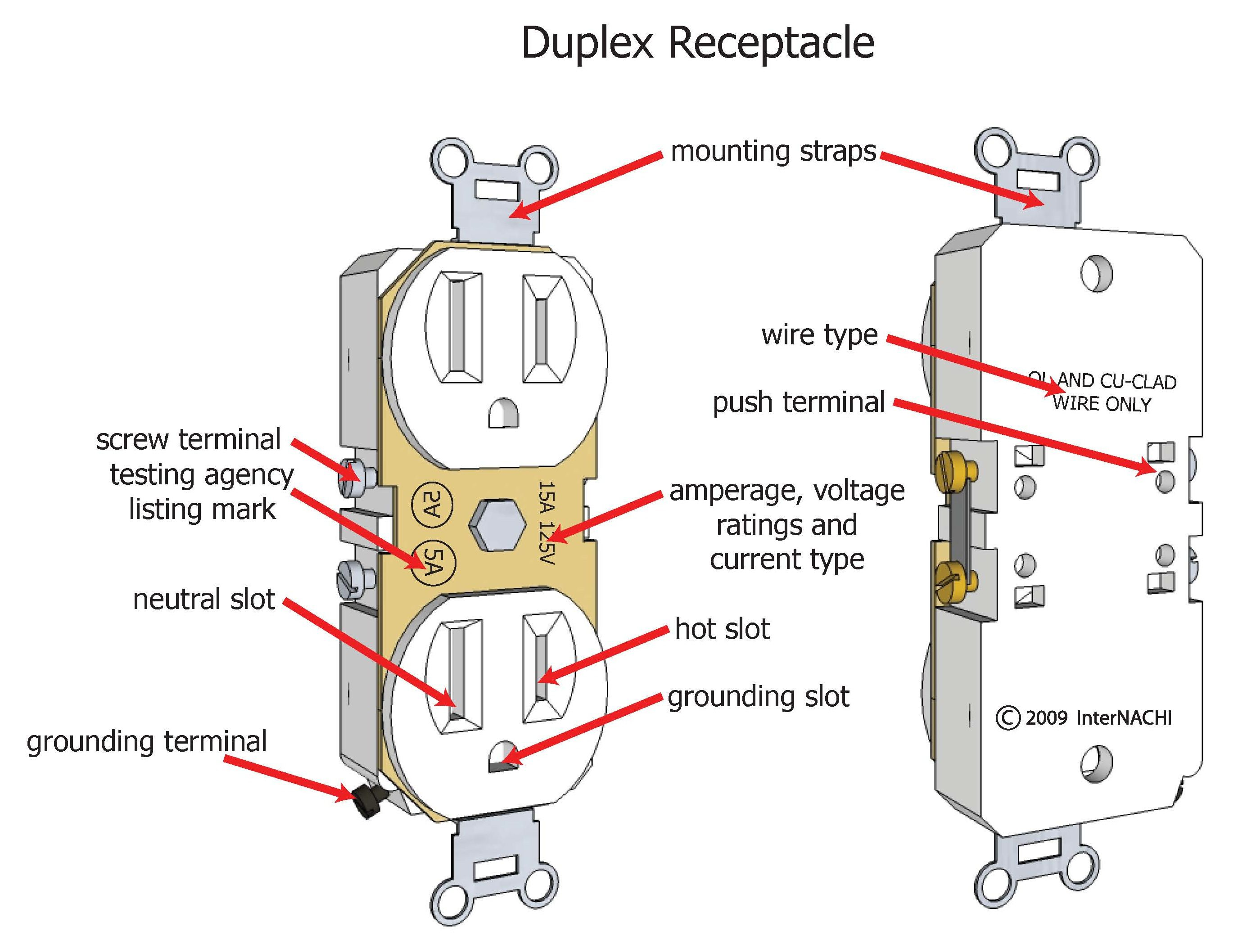 Duplex Plug Wiring Completed Diagrams Female Diagram